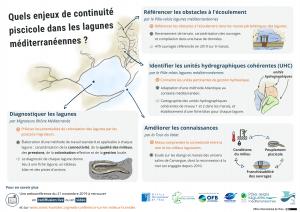 Les enjeux de continuité écologique ne lagunes méditerranéenne