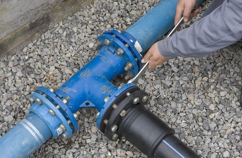 Branchement de réseau d'eau