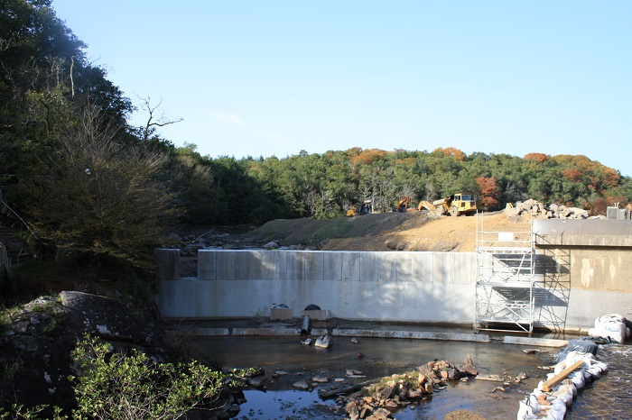 Effacement d'un barrage à Saint-Junien