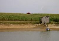 Réservoir agricole pour irrigation