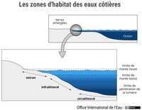 Les zones d'habitat des eaux côtières