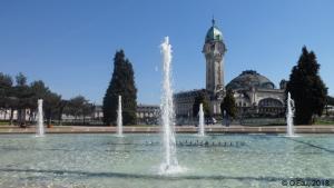 Fontaine champs de juillet Limoges