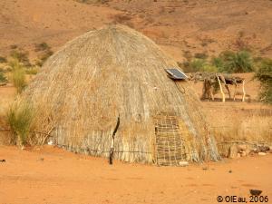 Habitat traditionnel Mauritanie