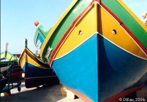 MALTE- pêcheurs embarcations