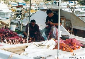 Pêcheurs et filets