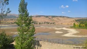 Lac Sevan asséché