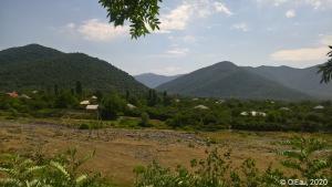 Montagne d'Azerbaijan