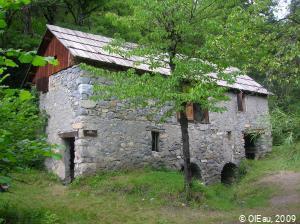 Moulin à eau ancien