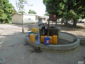 Usager d'un puits public - RCA, 2020