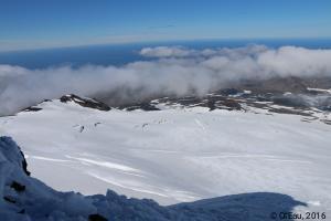 Glacier-crevasse