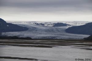Recul de glacier