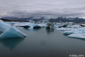 Fonte de glacier