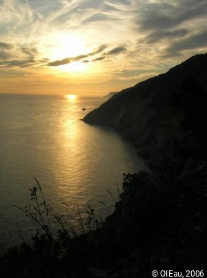 Littoral cinque terre - Italie