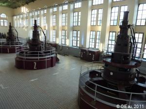 Centrale hydroélectrique - turbines