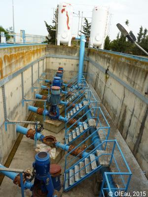 station de pompage - Tunisie