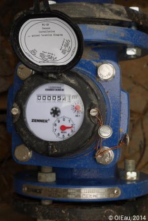 Compteur irrigation