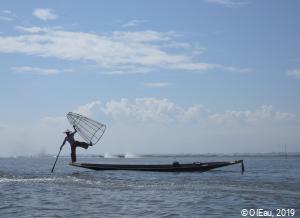 Pêcheur au Myanmar