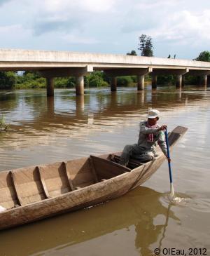 Pont de Thnol Baek - Saison Humide - Cambodge