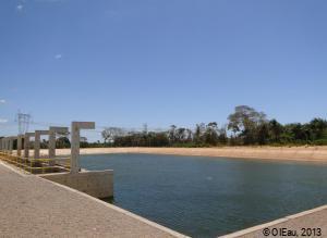 Réservoir d'eau au Brésil