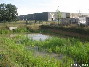 Bassin de rentention des eaux pluviales