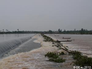 Retenue d'eau pour irrigation, et pêche - Cambodge