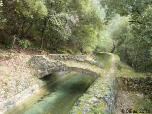Canal eau brute - Provence