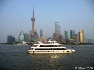Navigation sur la rivière Huangpu