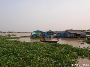 Villages flottants- Tonle Sap - Cambodge