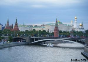 La Volga à Moscou